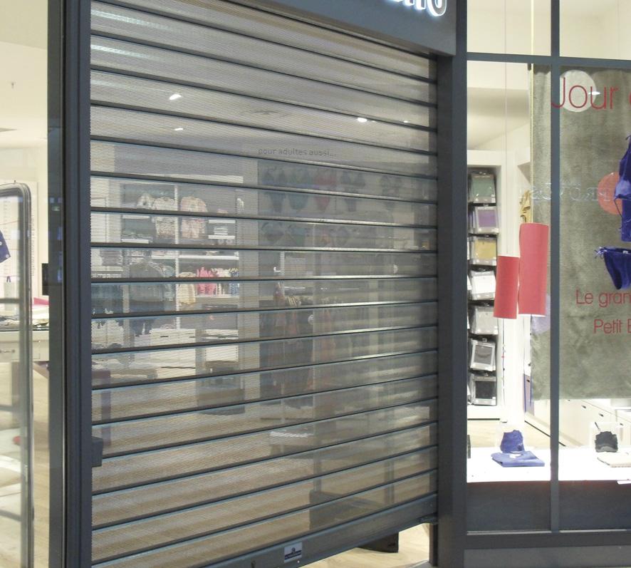 Vals serrurerie ferronnerie - Rideaux et façades de magasin